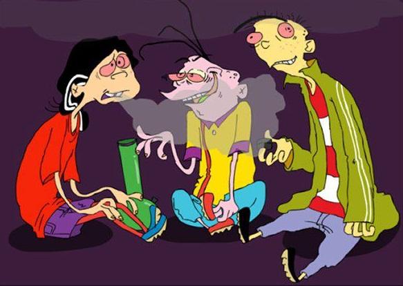 Drawn weed character Smoking Weed Smoking Characters Characters