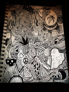 Drawn weed doodle Search Google trippy weed