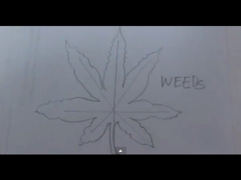 Drawn weed easy Weed a a How Leaf