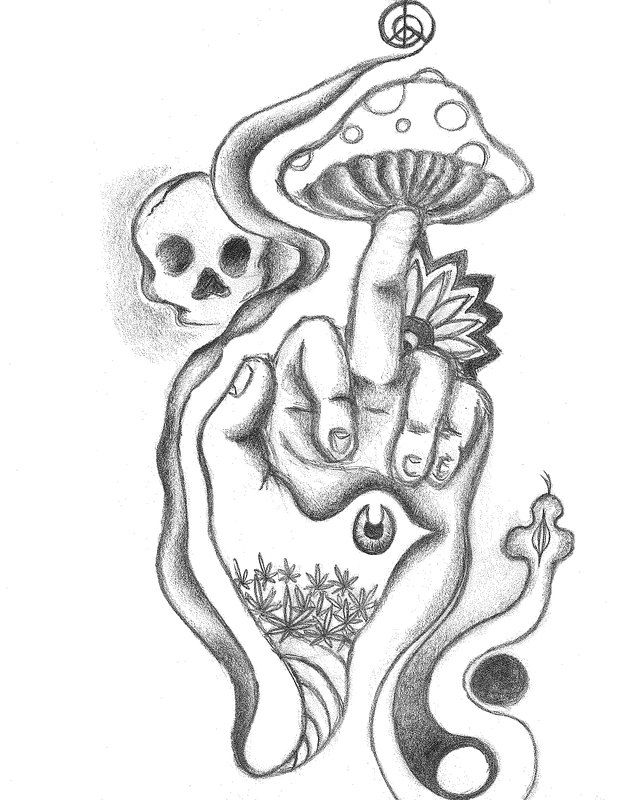 Drawn weed easy Drawings grunge to Google