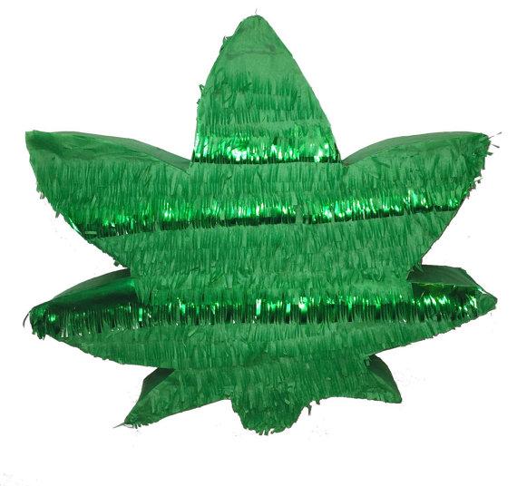 Drawn weed hemp leaf Leaf  Pinata Hemp