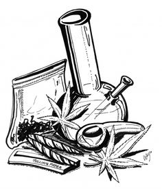 Drawn weed mary jane Weed drawings  Gallery Image