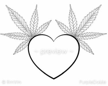 Drawn pot plant dreamcatcher Leaf Color Marijuana Cannabis Page