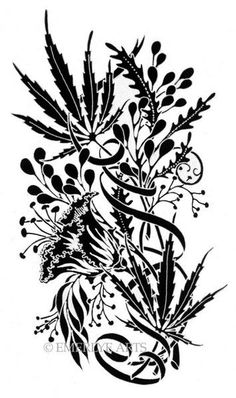 Drawn weed mary jane Weed images Hippie Art Mary