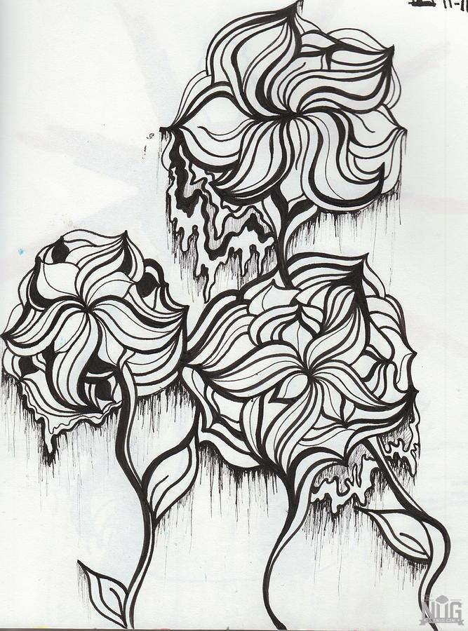Drawn weed nug (IMG Art Pot Nug Inspired