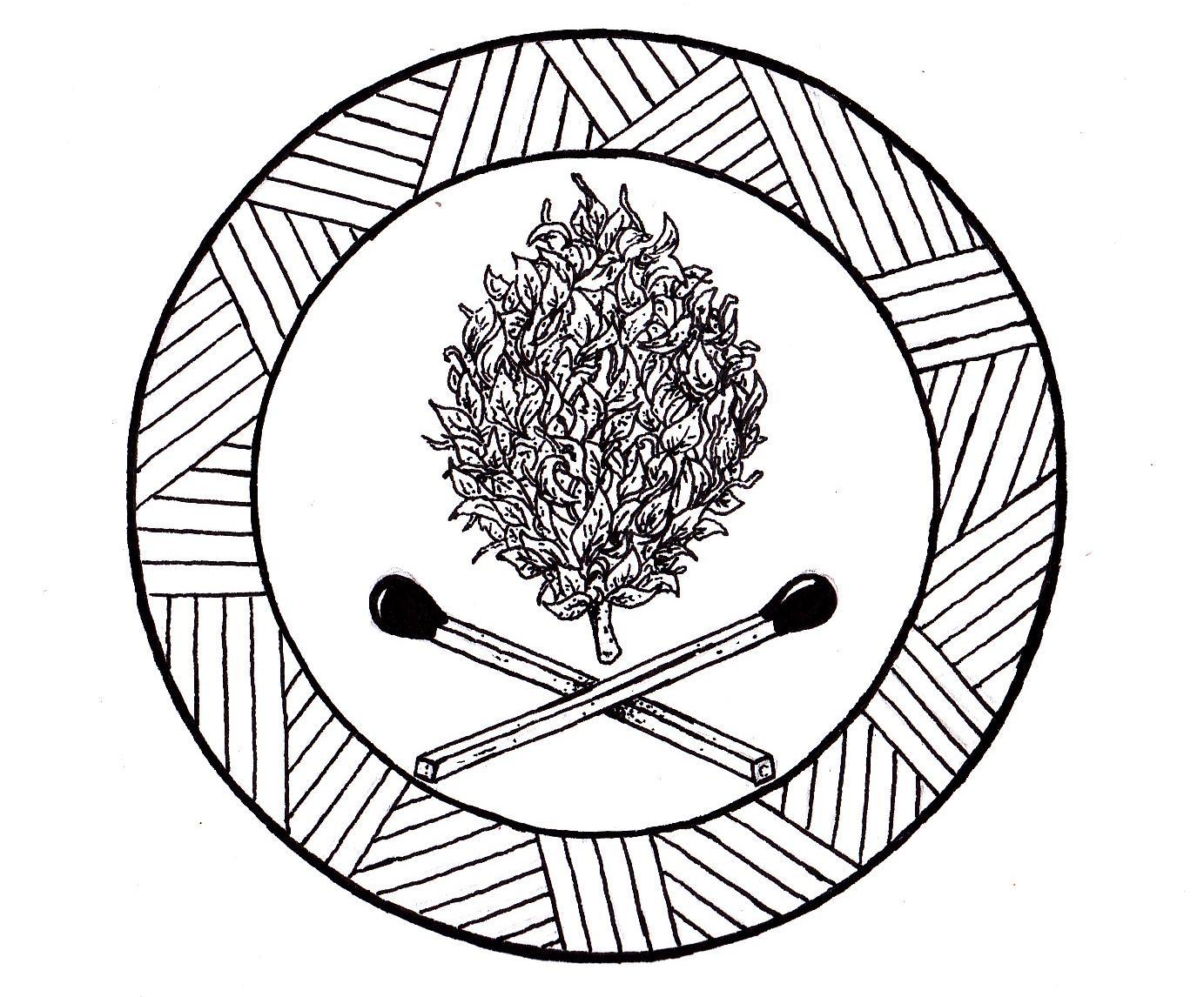Drawn weed nug Trees : 3 to I