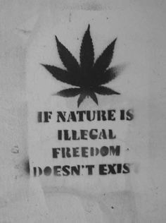 Drawn weed peace sign ☮ American ~ Weed Quotes
