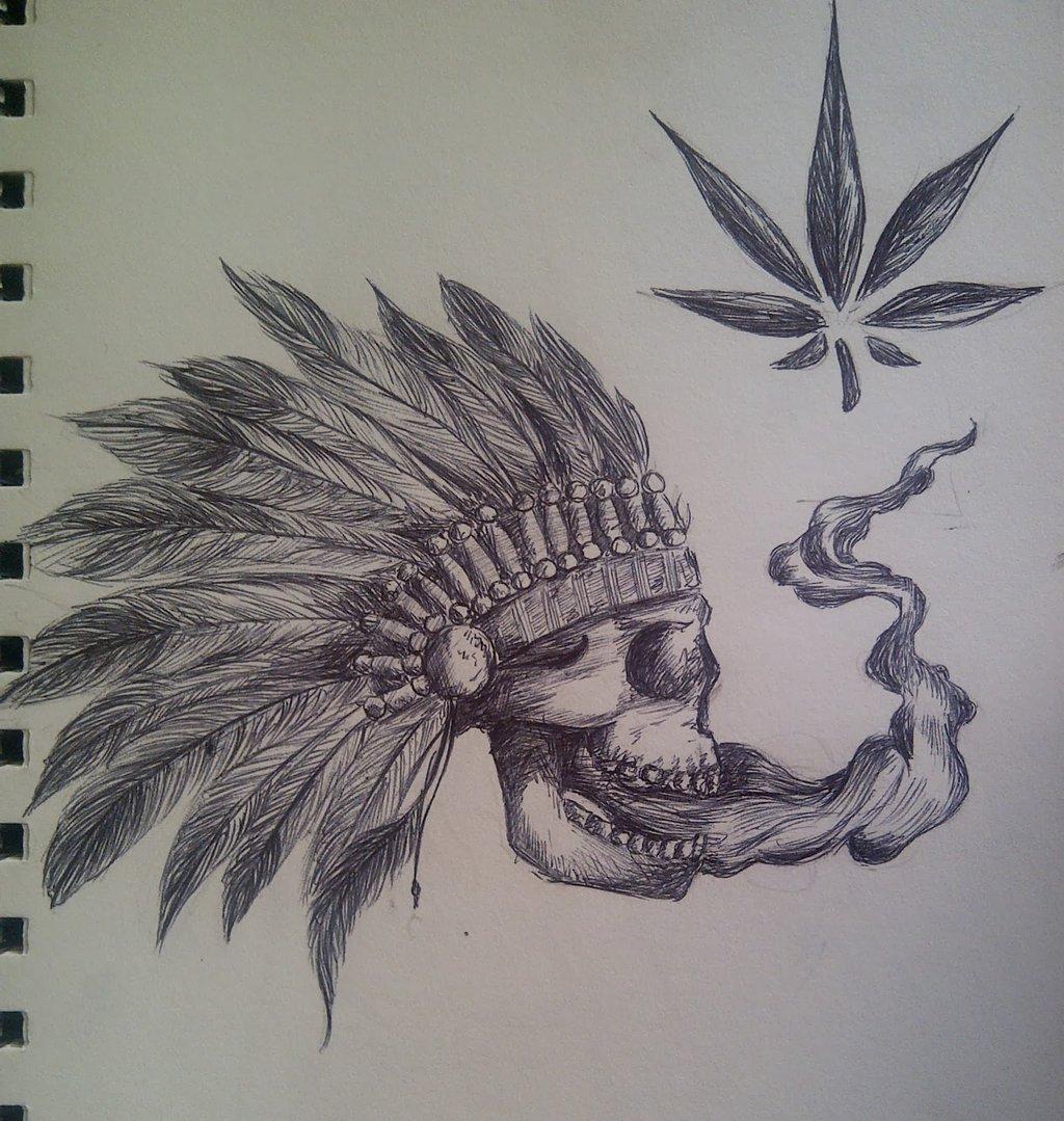 Drawn weed smoke drawing  Drawings Weed Maryshavh by