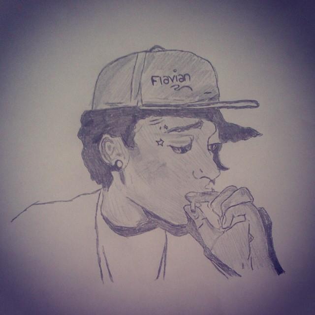 Drawn weed smoke drawing Khalifa #me #with on #weed