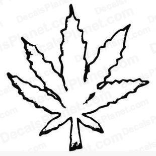 Drawn pot plant leaf template Free Clipart Clipart Weed Panda