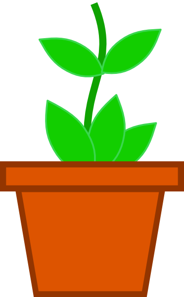 Drawn pot plant clipart 20clipart Weed Tiny #120 86