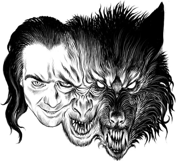 Drawn werewolf Drawing on ideas Best 20+