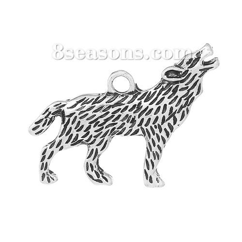 Drawn werewolf 28mm Pendants x Alloy Zinc 7/8