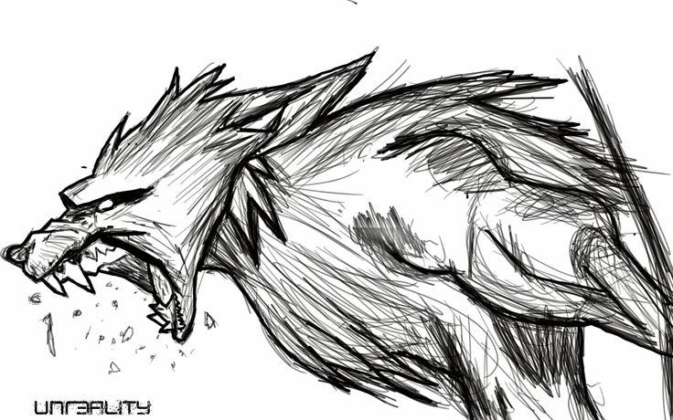 Drawn werewolf NOTE 7 drawn Tegra by