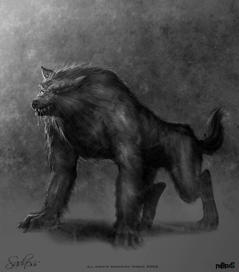Drawn werewolf all fours WEREWOLF  LYCANTHROPY Paradox: OR