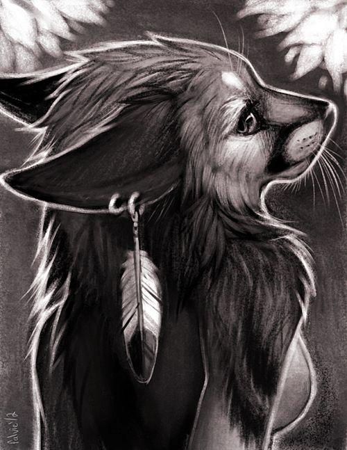 Drawn werewolf all fours Deviantart fours Tatchit Werewolves by
