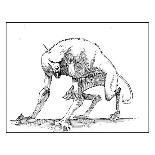 Drawn werewolf all fours Comic Werewolf_art News Monsters Comic