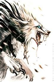 Drawn werewolf all fours Pinterest for about wolf Best