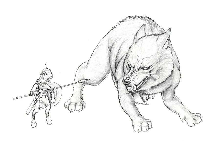 Drawn werewolf armor 2010 Click I more Art