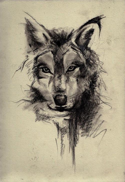 Drawn werewolf artwork Eu para se tatuagens