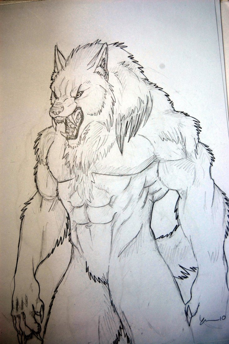 Drawn werewolf awesome Drawings Awesome werewolf Drawings Awesome