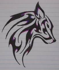 Drawn werewolf awesome Of Search tribal wolves drawings