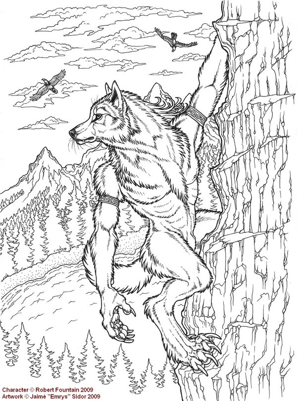 Drawn werewolf benandanti By by 19 Emryswolf 118