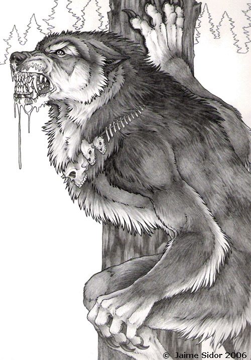 Drawn werewolf benandanti By by Emryswolf Wolf Wolf