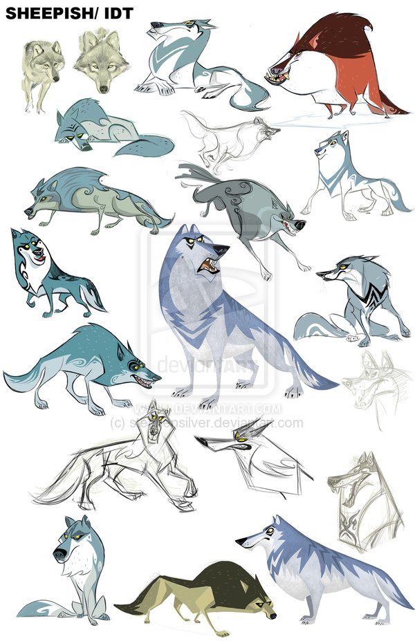Drawn werewolf character development More on *stephensilver Pin deviantART