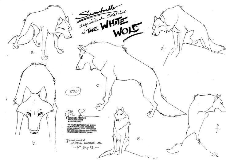 Drawn werewolf character model And images this 7 Design