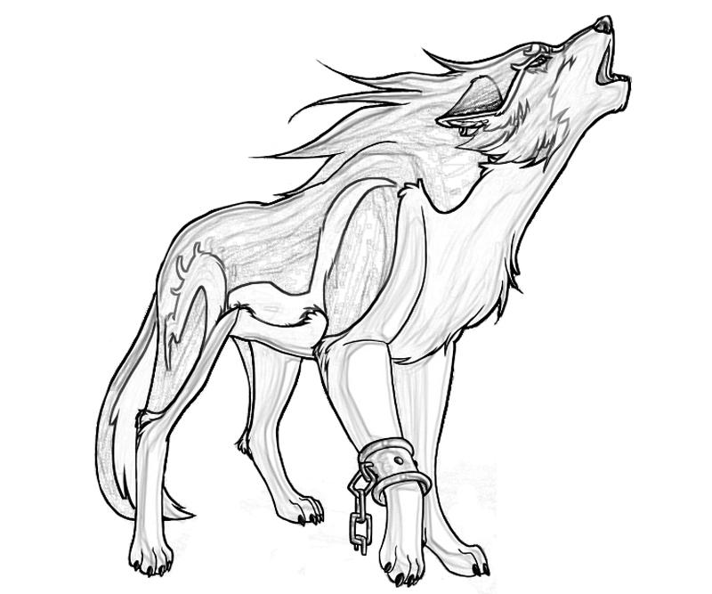Drawn werewolf coloring page Favorite Pages  Coloring Coloring