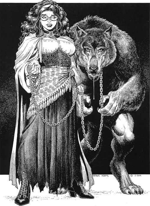 Drawn werewolf comic ArtComic Pet Gypsy's · ArtPencil