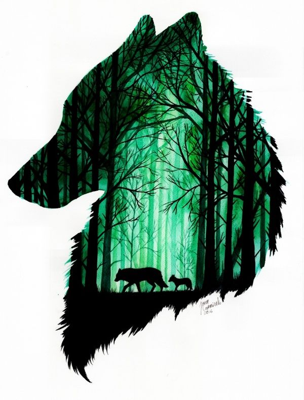 Drawn werewolf first Lamminaho Животные длиннопост Pinterest Wolf