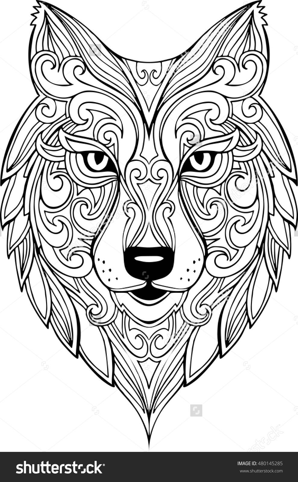 Drawn werewolf found This and  Head Head