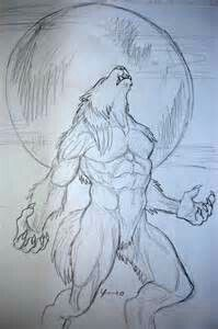 Drawn werewolf found Sketch best Pinterest images A