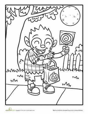 Drawn werewolf halloween 25+ colour Halloween on Best
