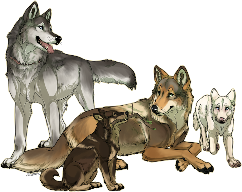 Drawn werewolf happy Com Family Hlaorith by Rugged