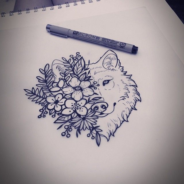 Drawn werewolf happy On The ideas drawing Tattoo