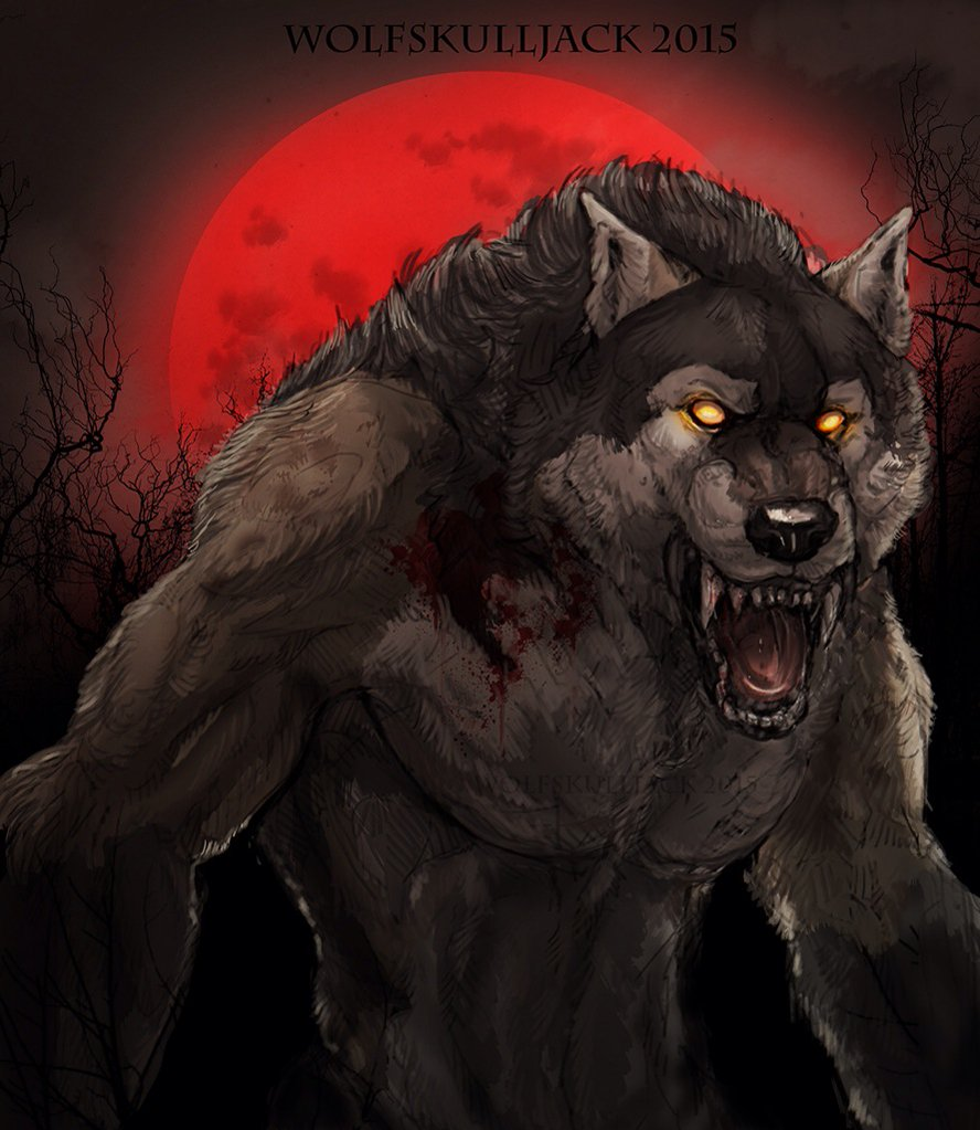 Drawn werewolf happy Happy Art SOTRG SOTRG