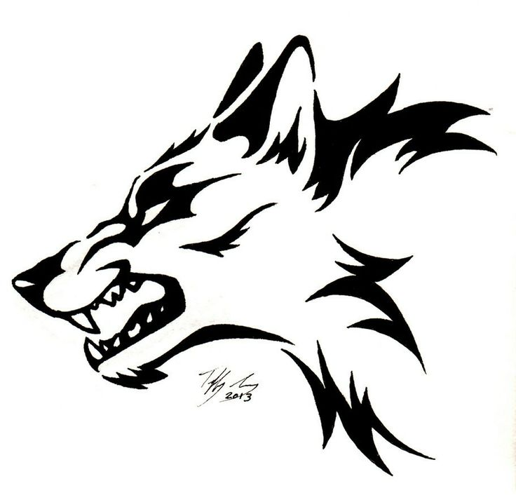 Wolf clipart drawn On images Wolf 163 Wolf
