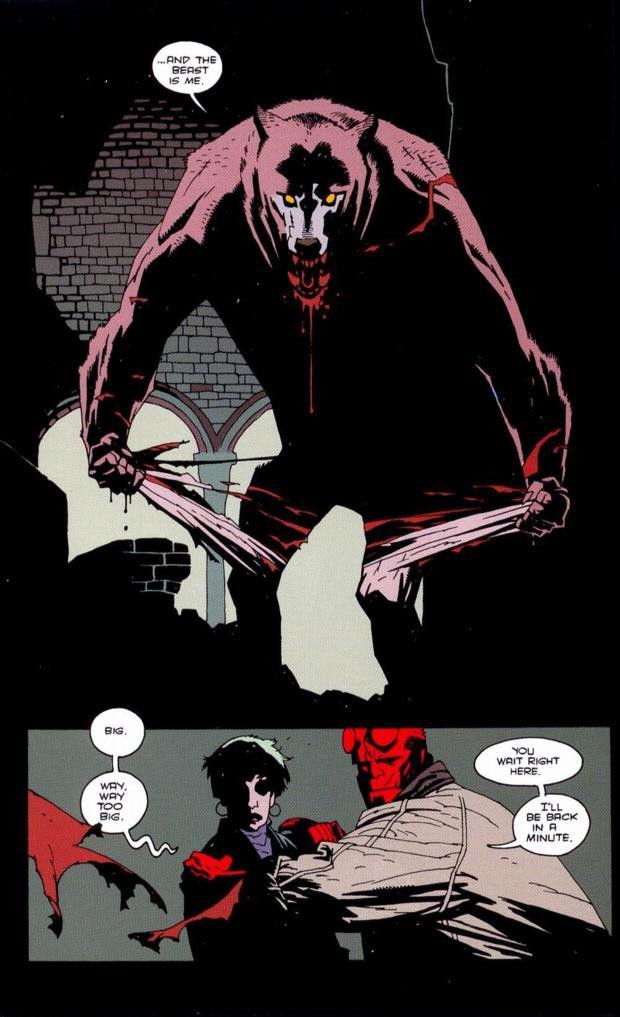Drawn werewolf hellboy And interesting myth classic their