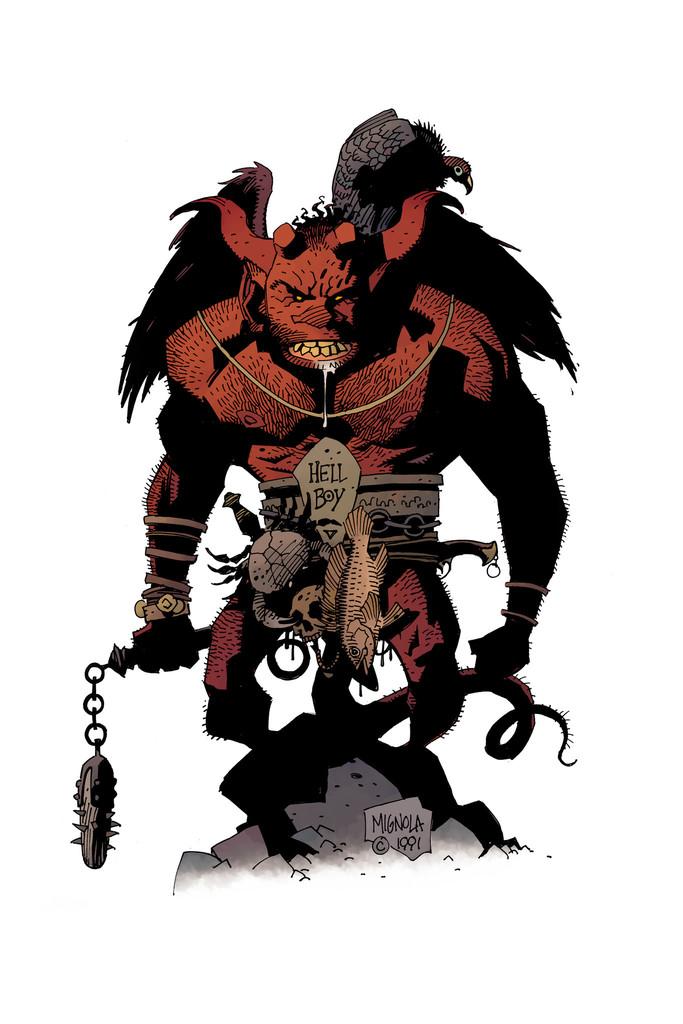 Drawn werewolf hellboy Cartoon Werewolf Werewolf