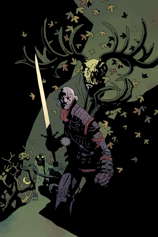 Drawn werewolf hellboy Perfect a for Comics' Dark