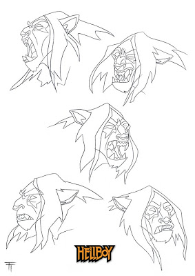 Drawn werewolf hellboy Of Tejeda: Doo long Hellboy: