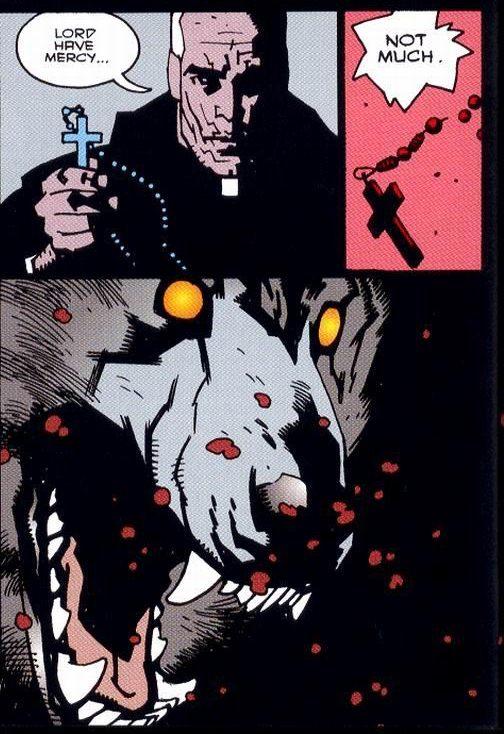 Drawn werewolf hellboy  media ELLIS by —