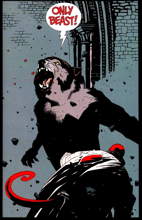 Drawn wolfman hellboy  Hellboy Wolves Hellboy: Wolves