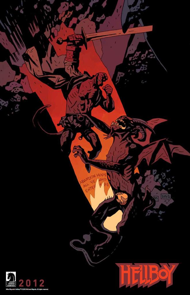 Drawn wolfman hellboy Horror Creator Hellboy the Hollywood