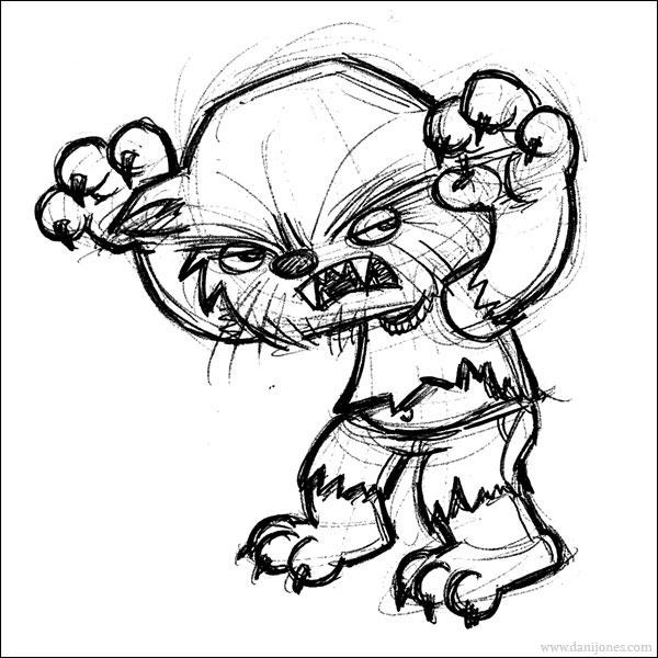 Drawn werewolf human If they show Werewolf to