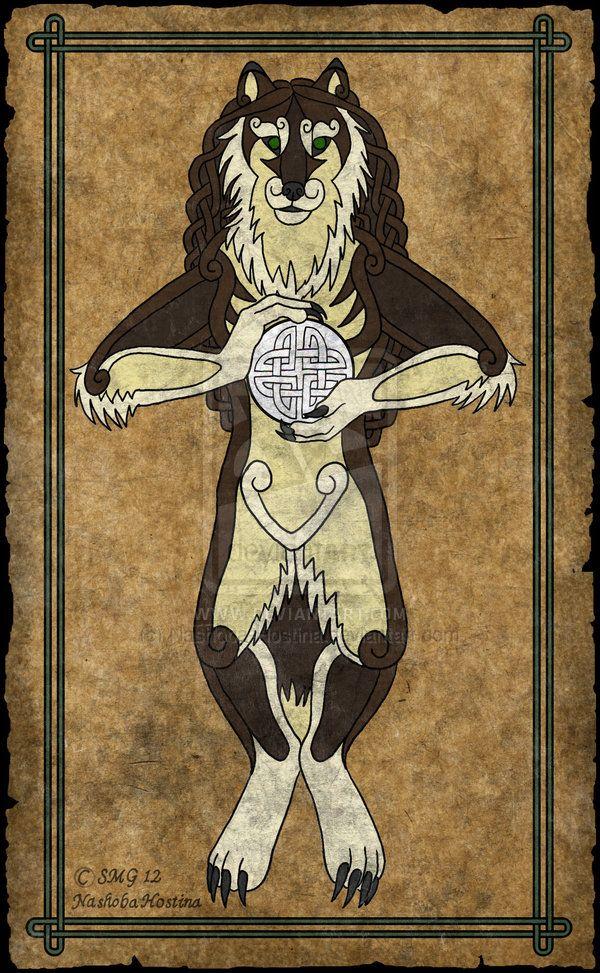 Drawn wolfman irish Celts best Ulfhednar the A