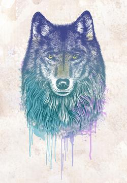 Drawn werewolf majestic Dream of I Art Print